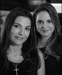 Daniela Trevisan da Silva e Michelle Gomes Flores